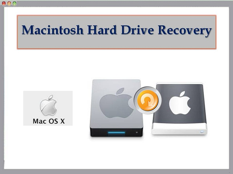 Advanced Macintosh hard drive recovery tool